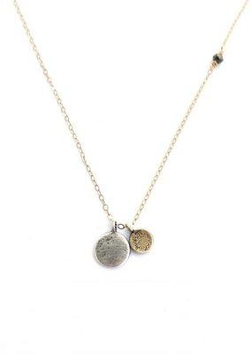 CLP CN18 SS Discs Necklace