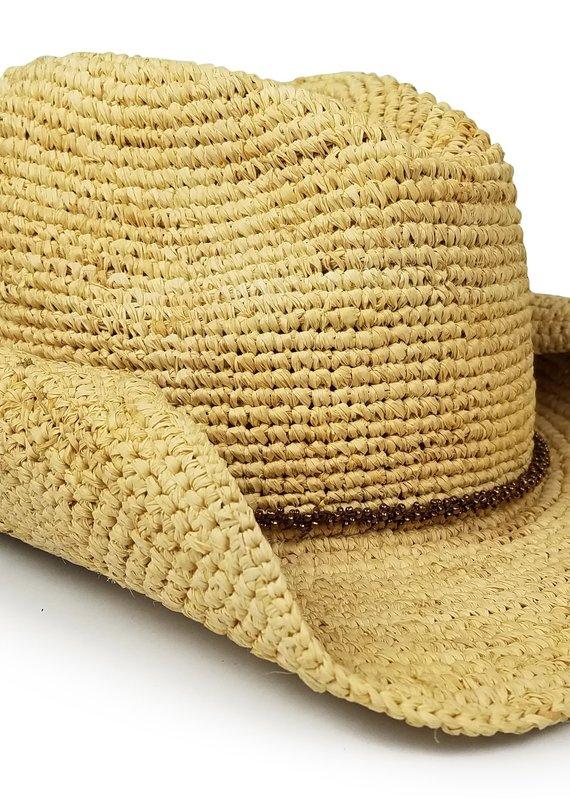 HA Crochet Cowboy Hat