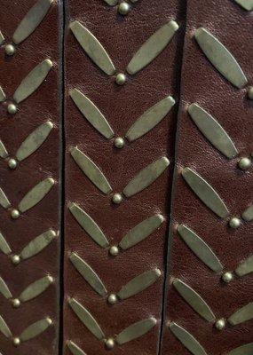 CC Ennio Brown Leather Belt