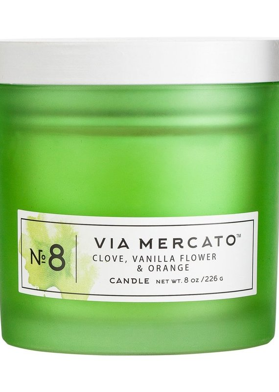 European Soap Mercato Candle 8oz