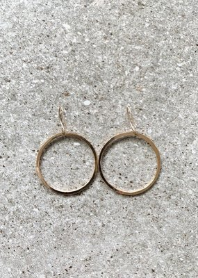 FTBM 14k Gold Filled Small Hoop Earrings
