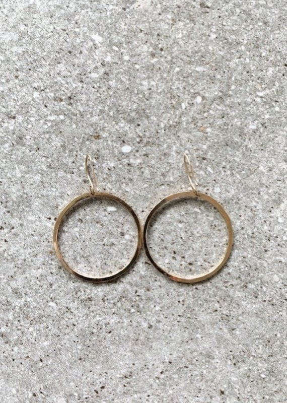 FTBM 14k GF Small Hoop Earrings