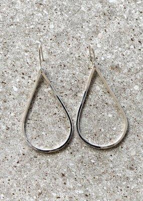 FTBM Sterling Silver Teardrop Earring