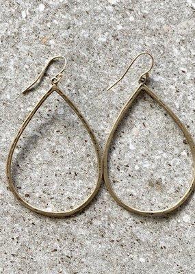 CLP E54 Bronze Teardrop Earring