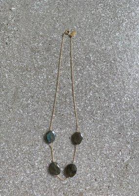 RB N125 Horizon Labradorite Necklace