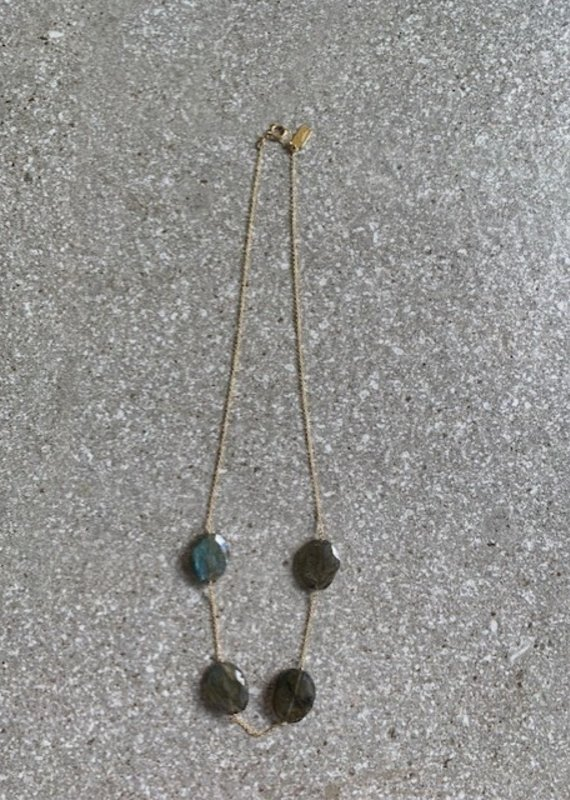 RB N125 Horizon Labradorite Necklace