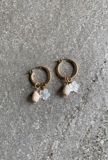 RB 14KGF PINK SHELL/HIBISCUS HOOPS