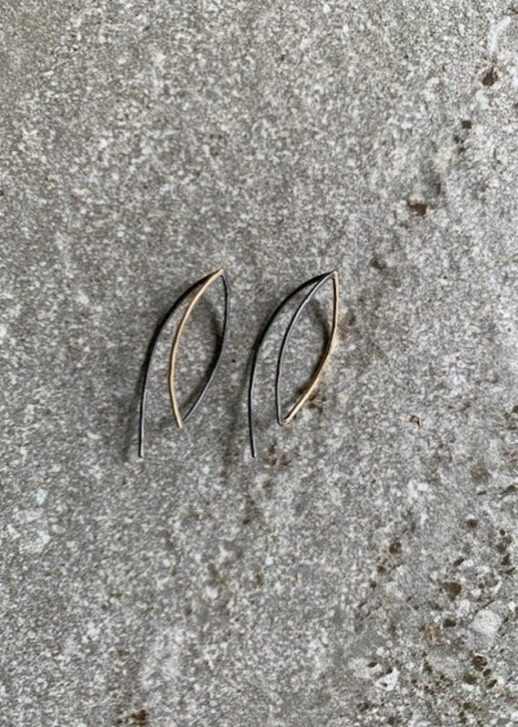MJM Mixed Metal Ear Wires