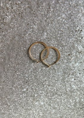MJM 14K Small Gold Hoops