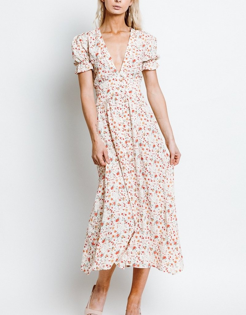 Monte Roxanne Midi Tigerlily Dress