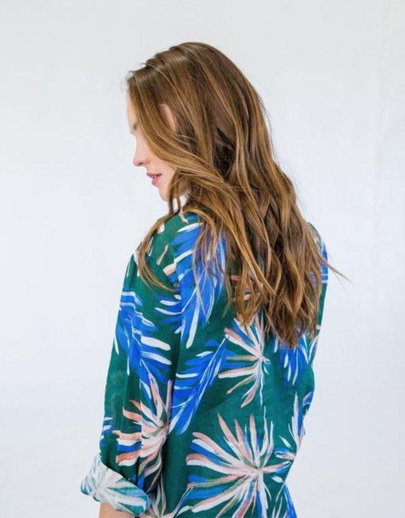 BOP Eden Palm Print Shirt