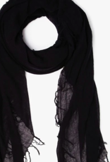 CL SOLID CASHMERE SILK SCARF