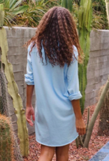 TEE LAB MARY BUTTON UP DRESS