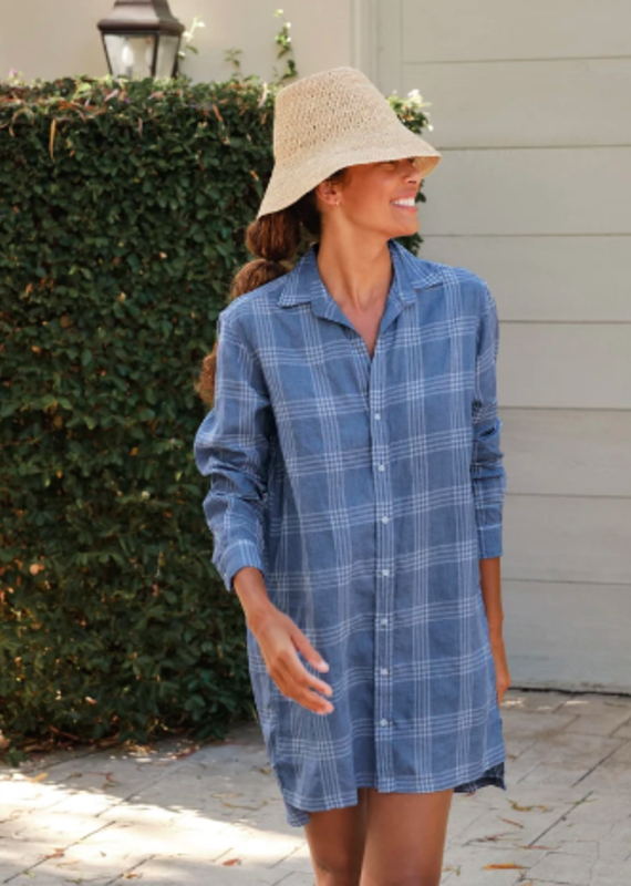 F&E HUNTER LINEN DRESS