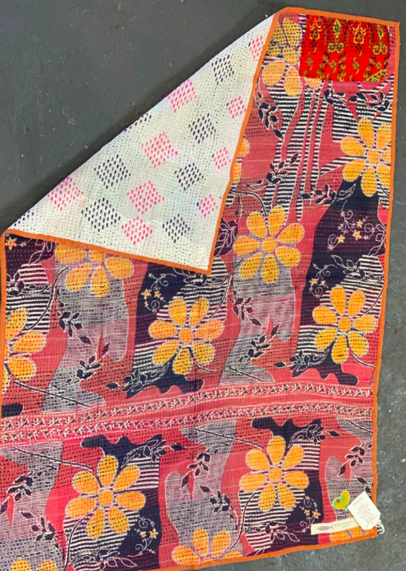 BY THE SEA SMALL KANTHA QUILT (More Prints)