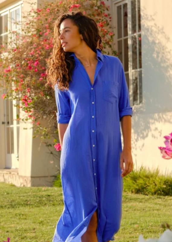 F&E RORY COTTON L/S LONG DRESS (More Colors)