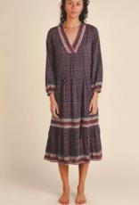 BOP HOLLAND TIERED DRESS