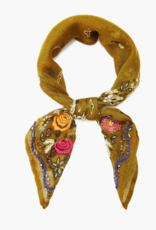 CL EMBROIDERED SCARF