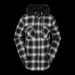Volcom Volcom WMNS Hooded Flannel Jacket