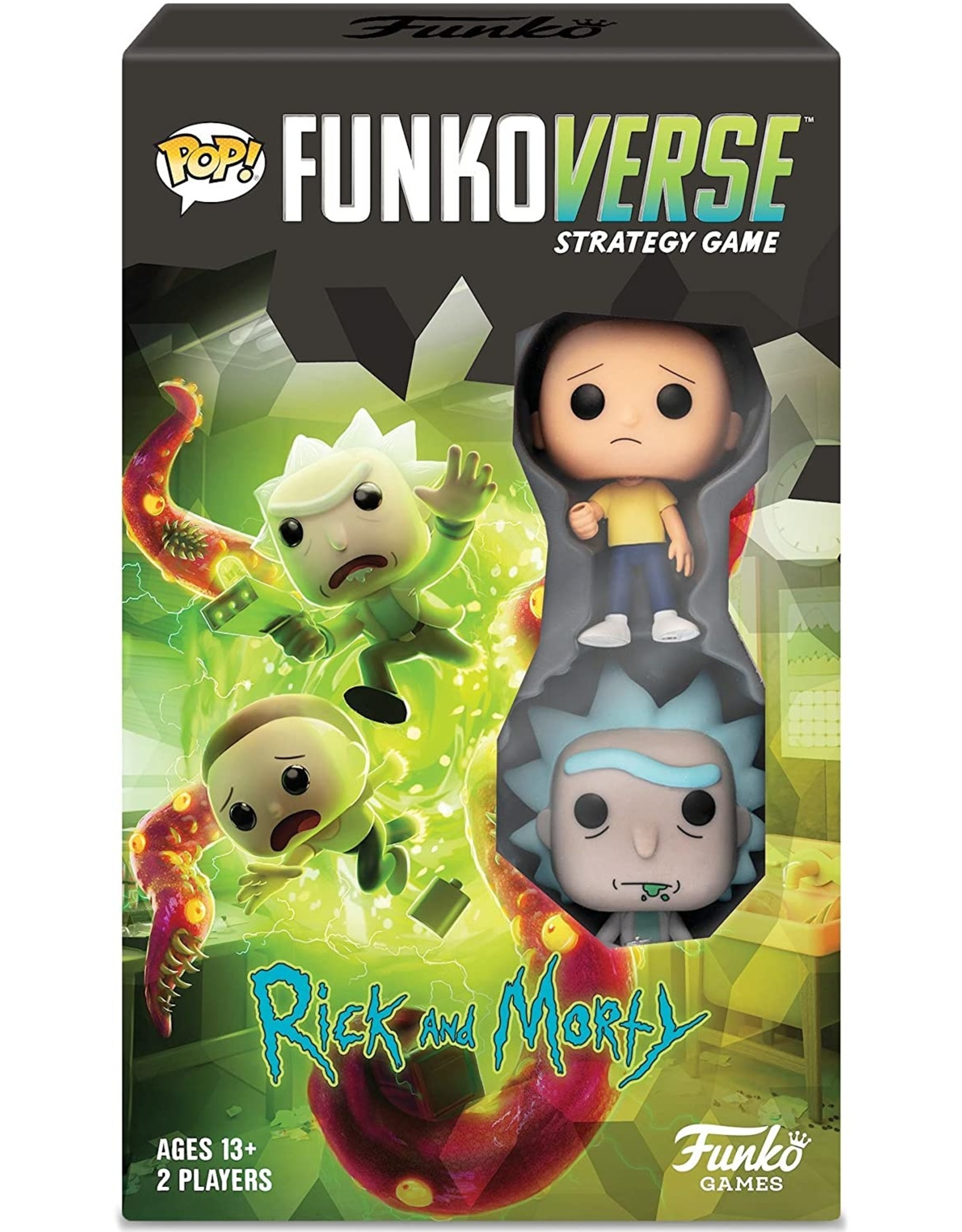 POP! Funkoverse Rick & Morty 100 Expandalone