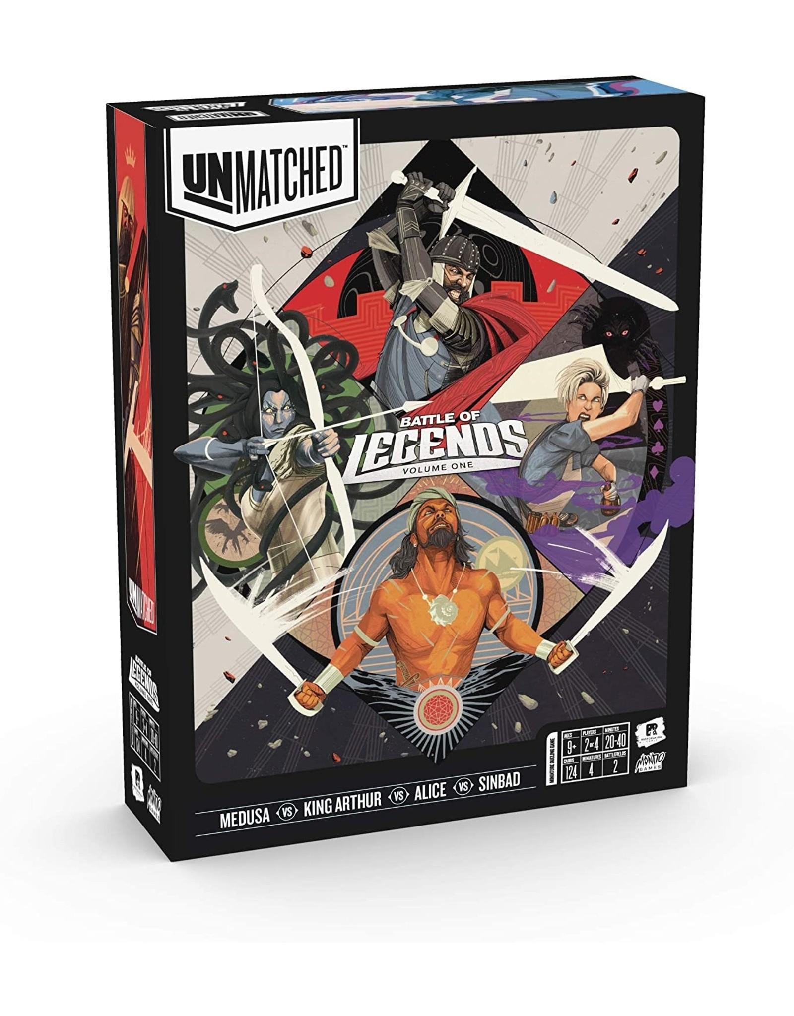 Unmatched Battle of Legends, Vol. 1