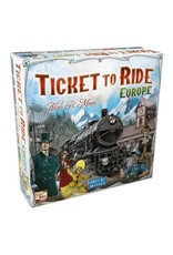 Ticket to Ride Ticket to Ride Europe