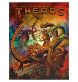(Pre-Order) Dungeons and Dragons RPG: Mythic Odysseys of Theros Hard Cover - Alternate Cover