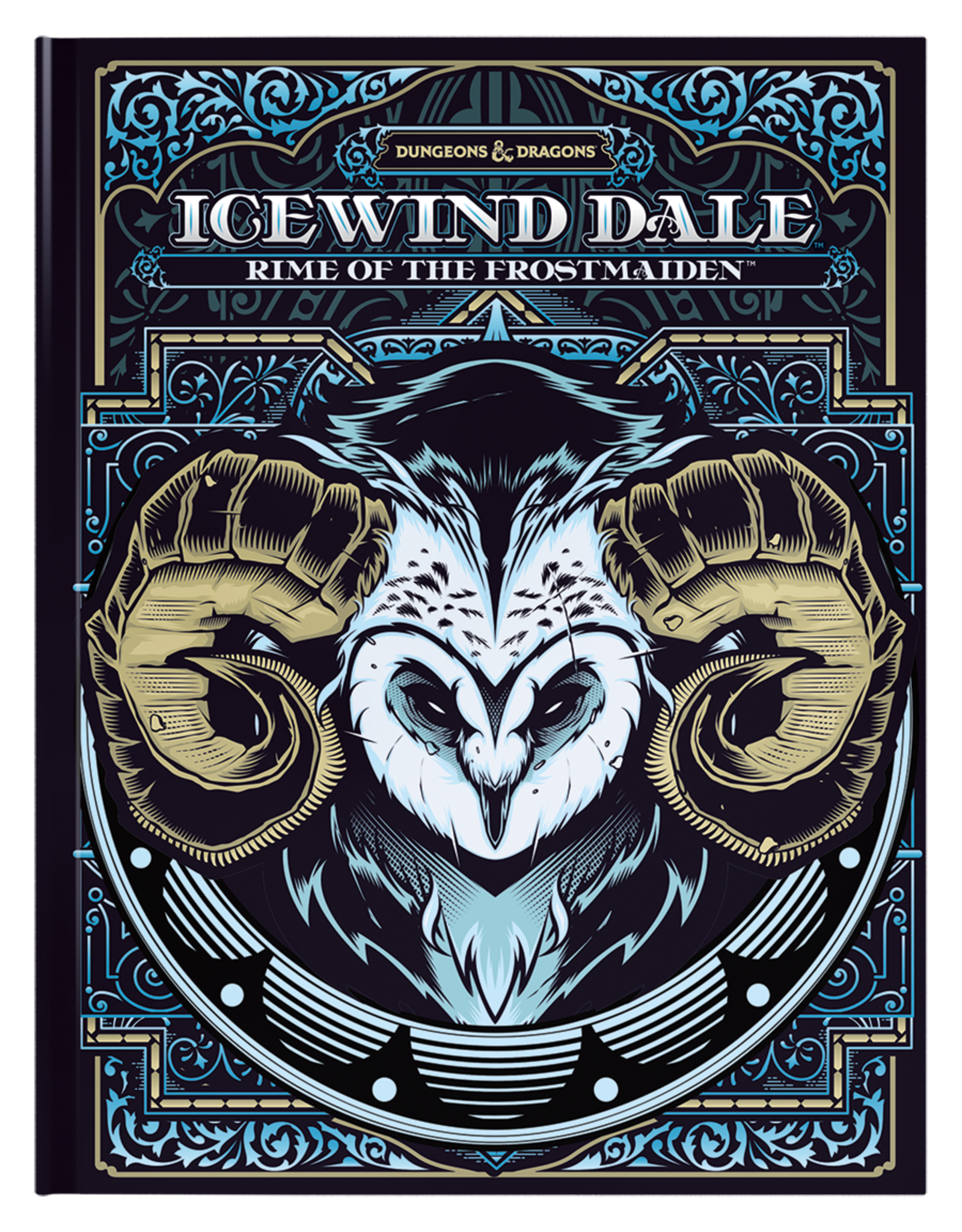 Dungeon & Dragons: Icewind Dale - Rime of the Frostmaiden (Brick & Mortar Cover)