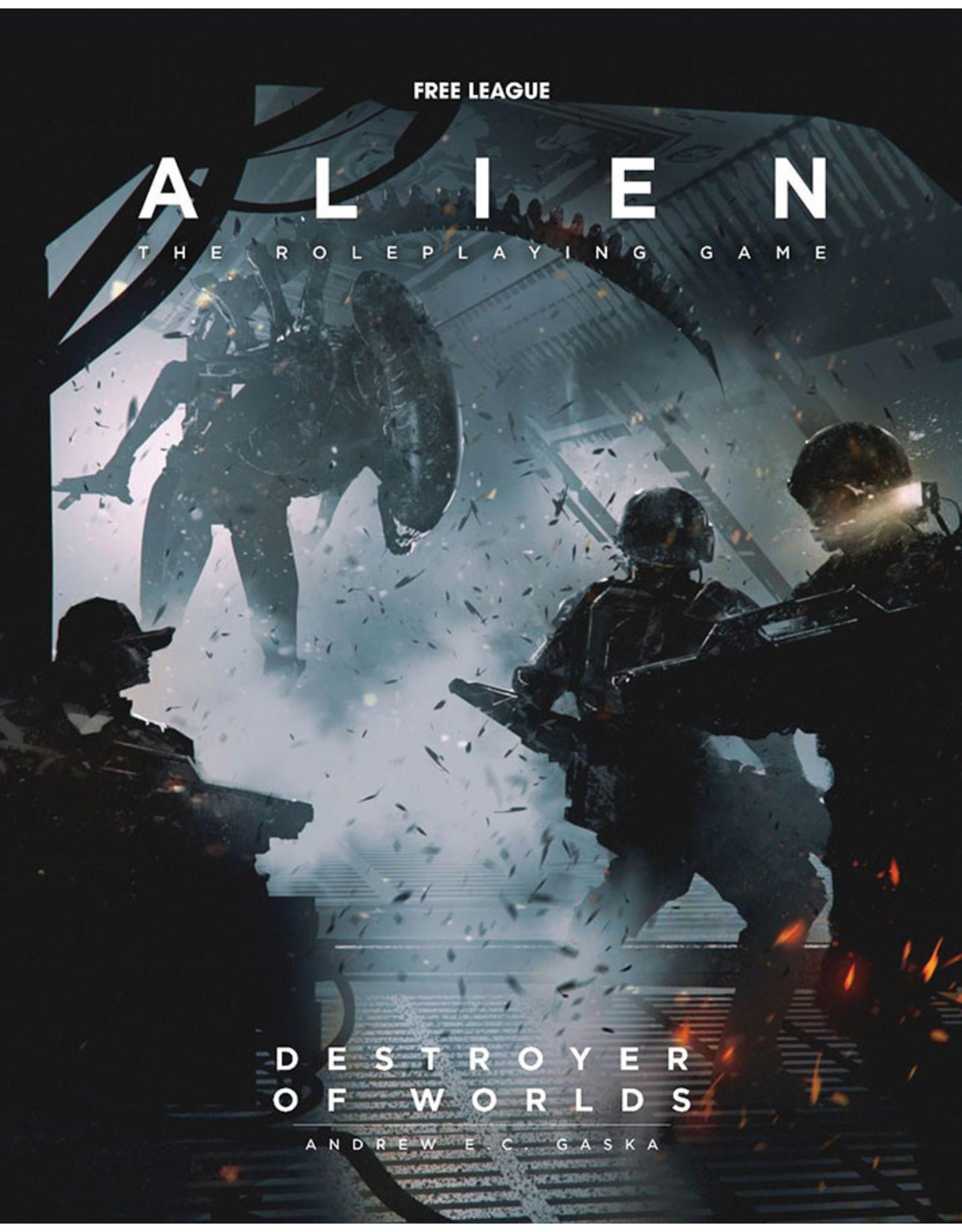 (Pre-Order) Alien RPG: Destroyer of Worlds Hardcover