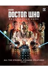 Doctor Who RPG All the Strange Strange Creatures