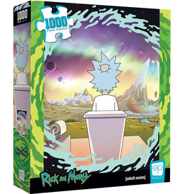 Rick and Morty: Shy Pooper 1000 Piece Puzzle