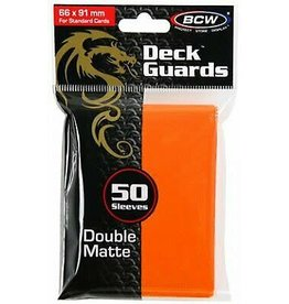 BCW Double Matte 50ct