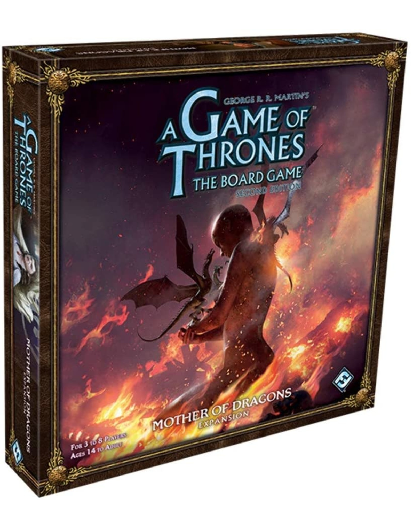 A Game of Thrones Board Game: 2nd Edition - Mother of Dragons Expansion