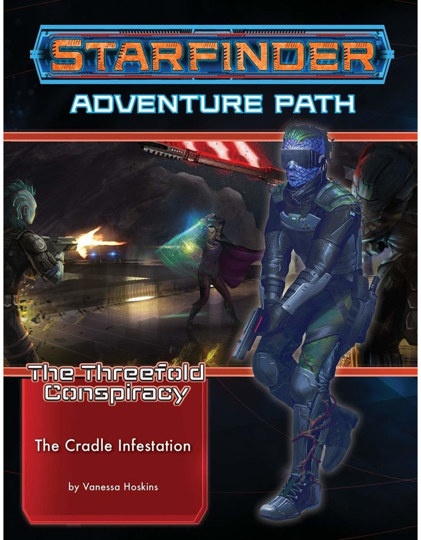 Starfinder RPG: Adventure Path - The Threefold Conspiracy Part 3 - Deceivers Moon