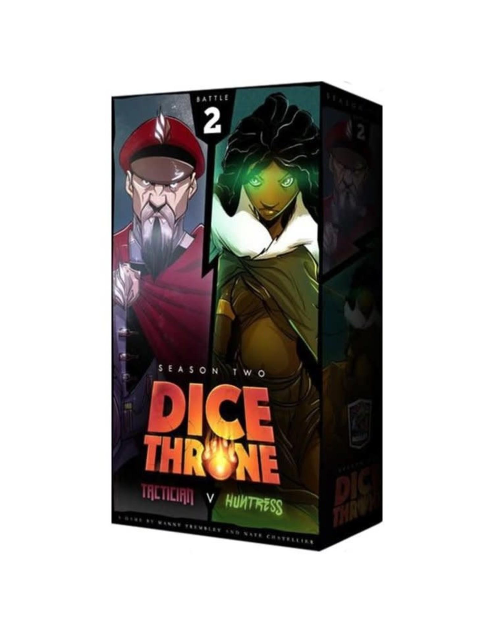 Dice Throne: Season 2 - Tactician vs Huntress