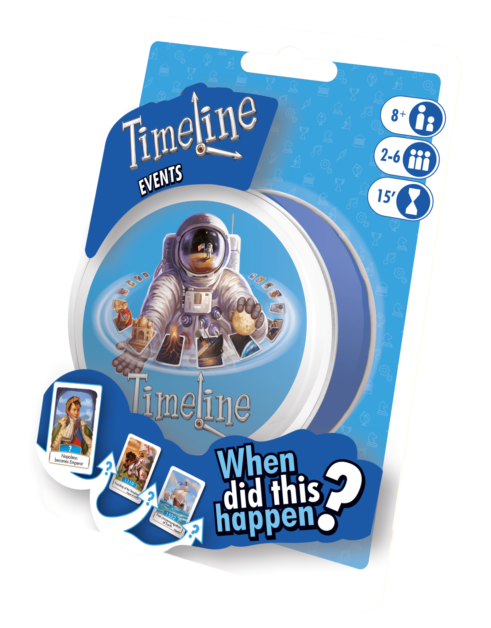 Timeline Events (Peg/Blister)