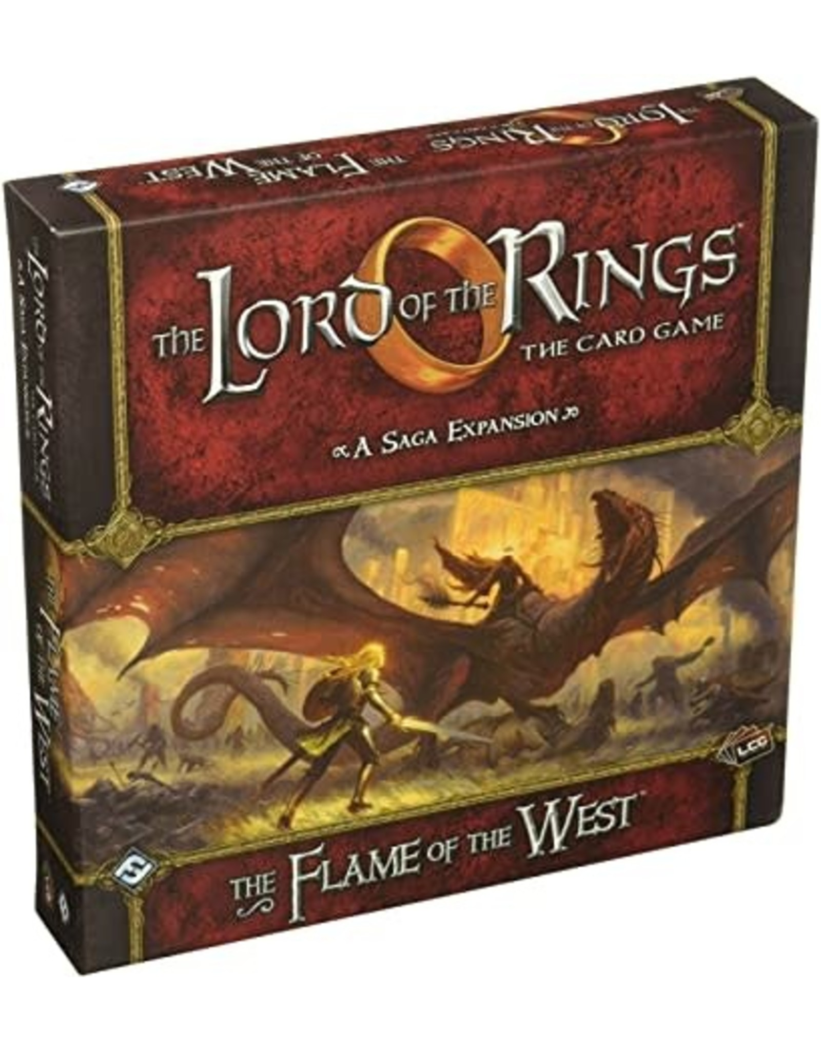 The Lord of the Rings LCG: The Flame of the West Saga Expansion