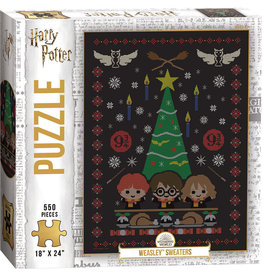 Harry Potter Holiday #1 550 Piece Puzzle