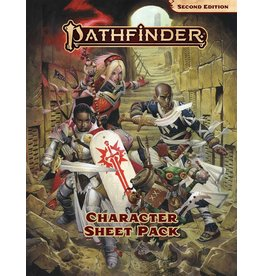 Pathfinder: Second Edition Character Sheet Pack