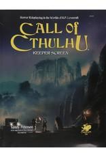 Call of Cthulhu RPG Call of Cthulhu: Keeper Screen