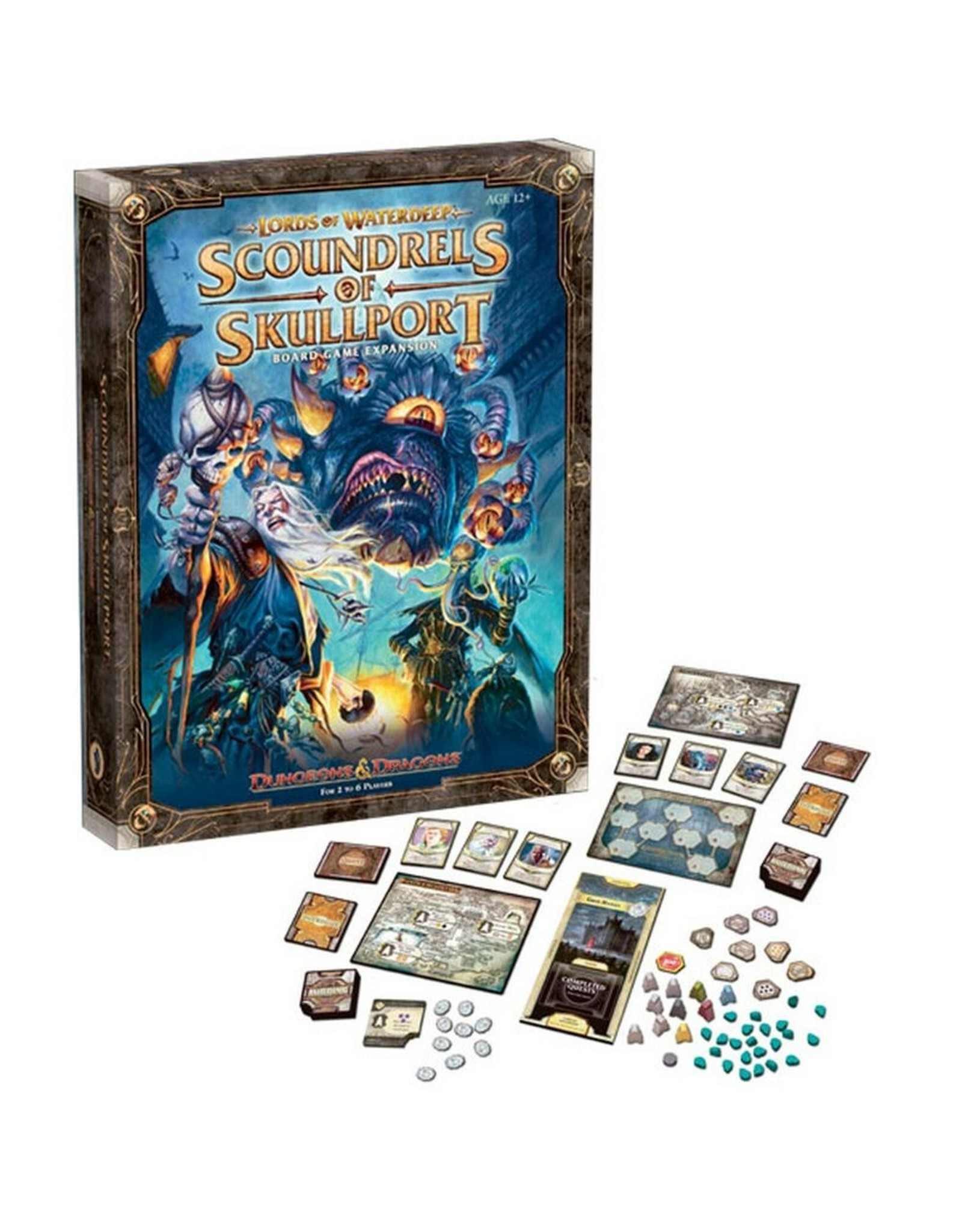 Dungeons and Dragons: Scoundrels of Skullport