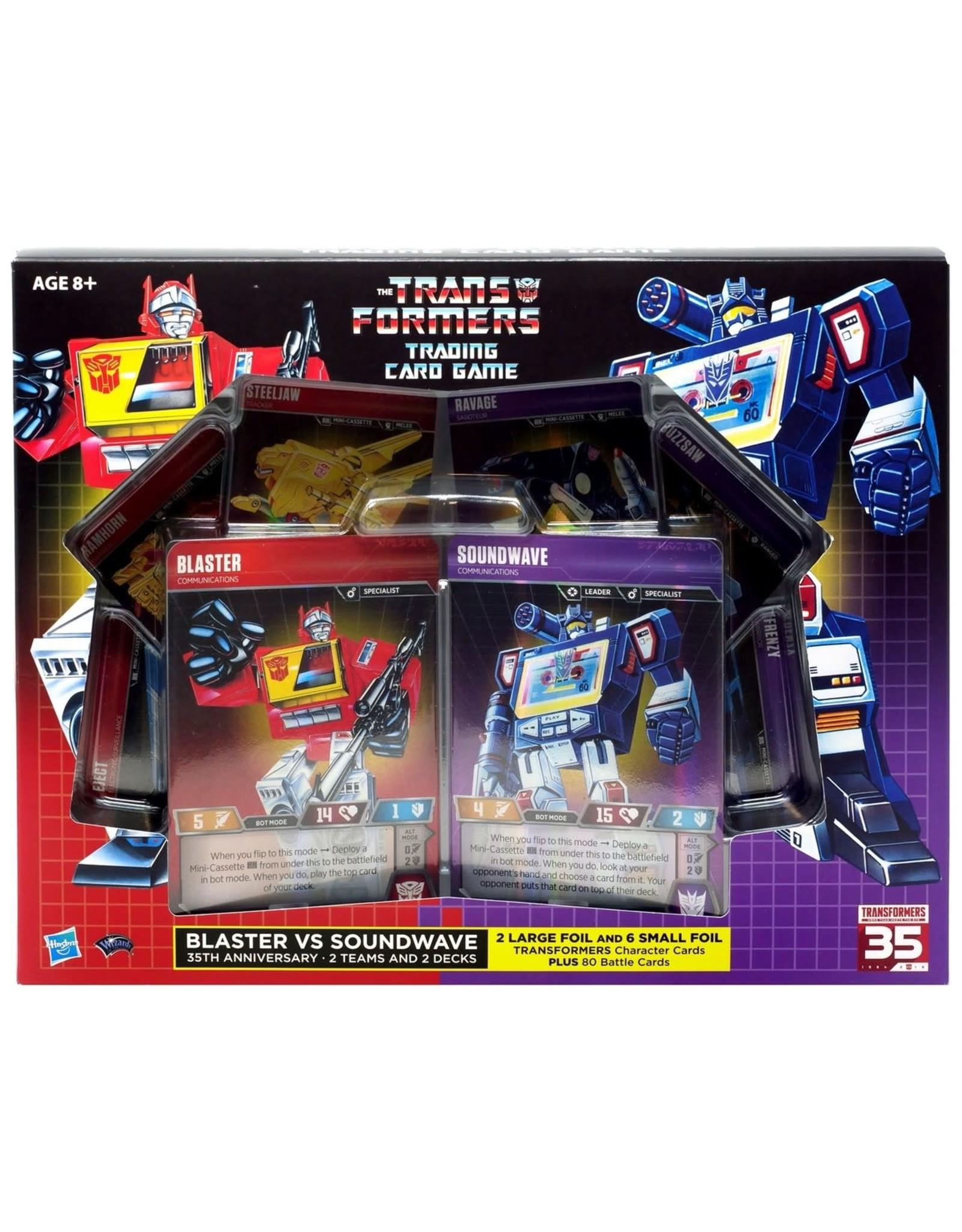 Transformers TCG: Blaster VS Soundwave Deck