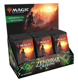 (Pre-Order) Zendikar Rising - Set Booster Display