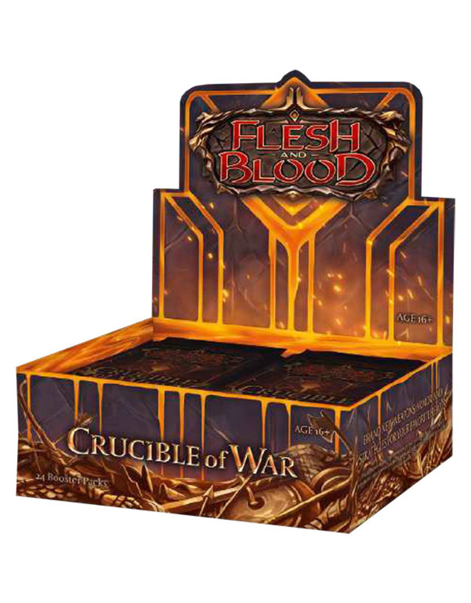 (Pre-Order) Flesh and Blood TCG: Crucible of War Booster Display