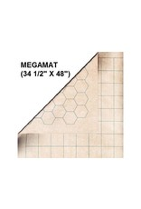 Megamat Double-Sided Megamat With 1 Inch Squares/Hexes