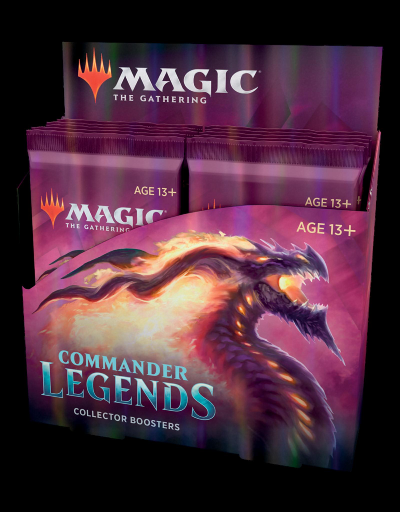 (Pre-Order) Commander Legends Collector Booster Display