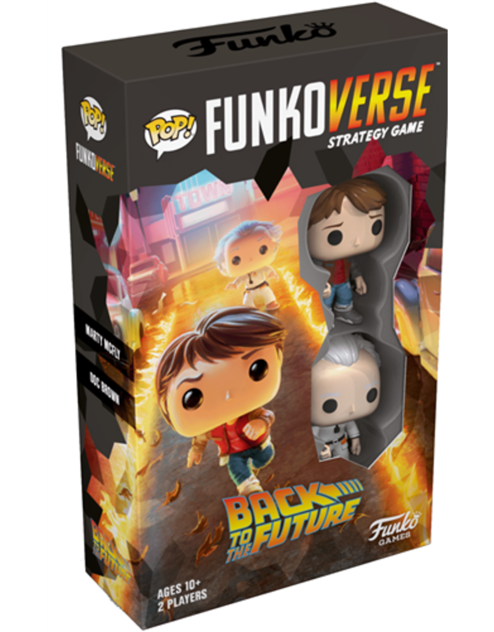 POP! Funkoverse: Back To The Future- 100 Marty McFly & Doc Brown