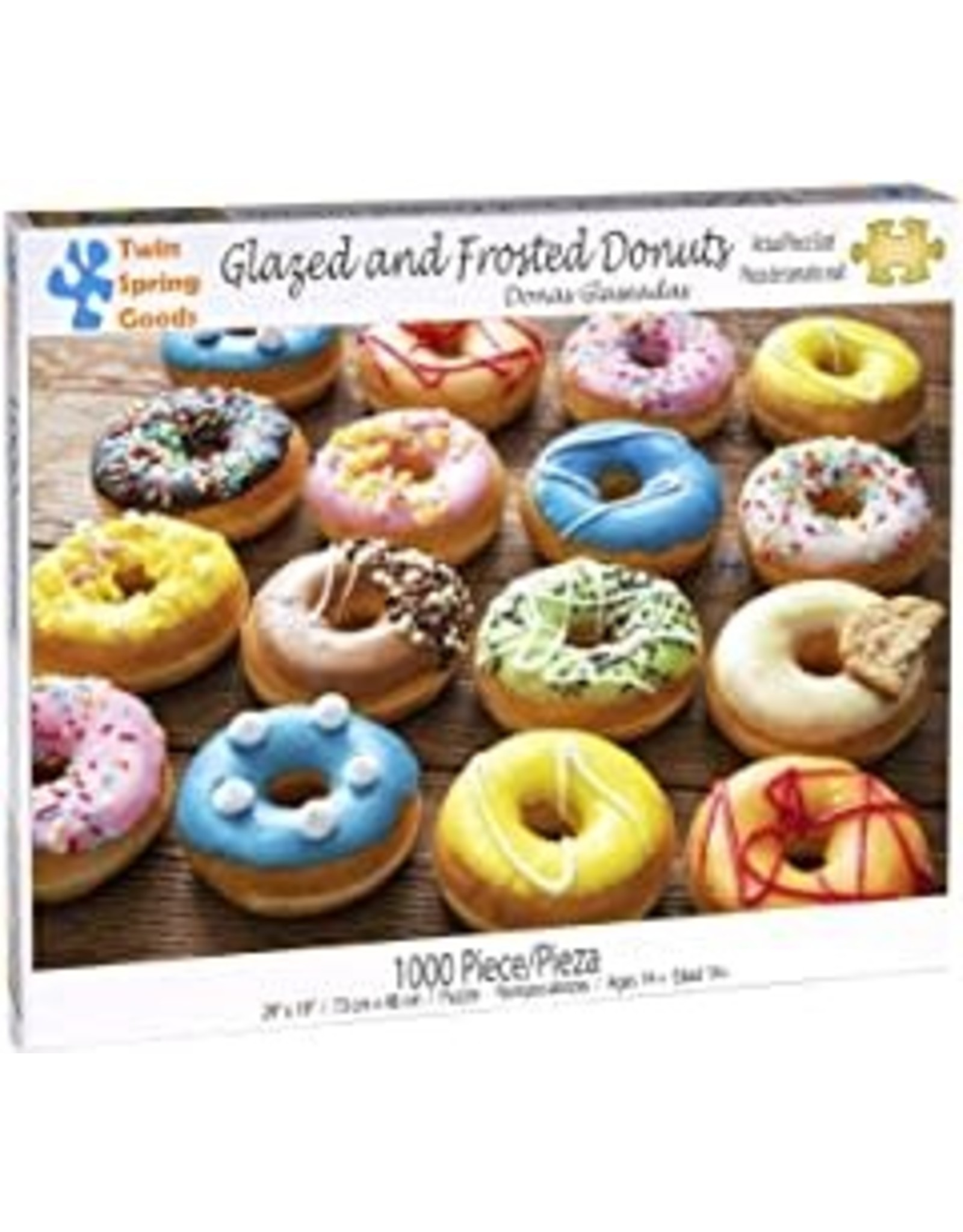 Glazed and Frosted Donuts 1000 pc