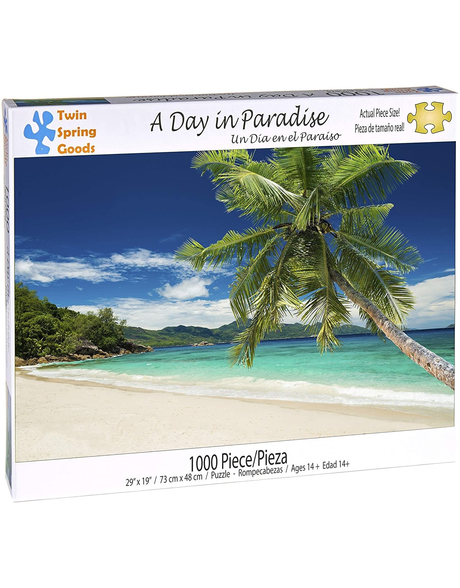 A Day in Paradise 1000 pc