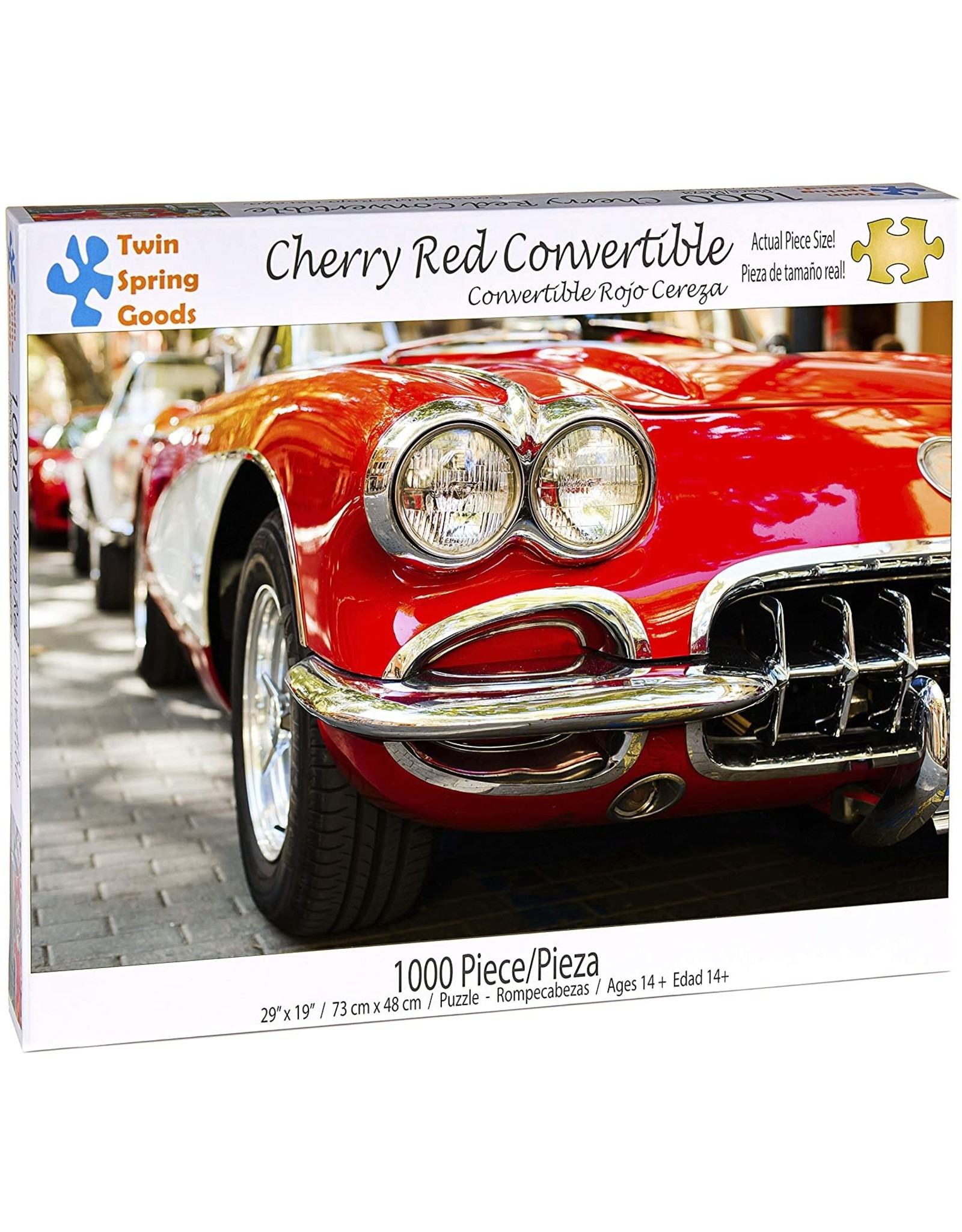 Cherry Red Convertible 1000 pc